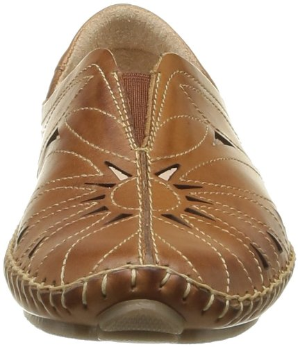 Pikolinos Jerez - Bailarinas de cuero mujer marrón - Marron (Brandy)