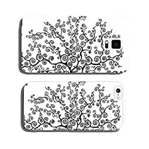 tree with curved branches cell phone cover case Samsung S5