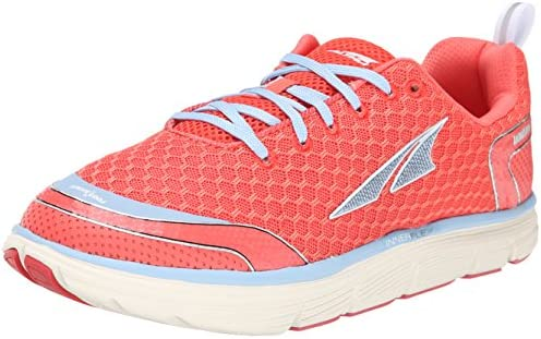 Altra The Intuition 1.5 Womens Red Mesh Low Top Athletic Gym Running Shoes 5.5