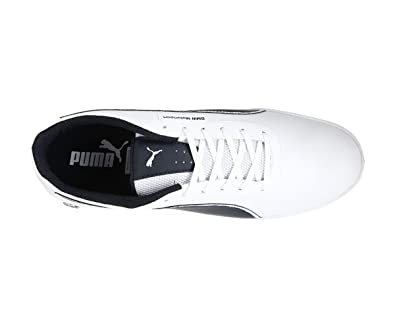 meet 97347 1410f Puma Men s BMW Ms Mch Lo White Leather Sneakers-6 UK India (39 EU)  (30588604)  Buy Online at Low Prices in India - Amazon.in