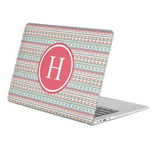 [ H - INITIAL ] [ Name Monogram Full Body Hard Case ][ Apple Old Macbook Pro 13