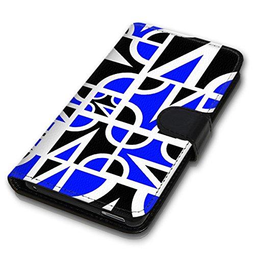Wallet Book Style Flip Handy Tasche Case Schutz Hülle Schale Motiv Etui für Apple iPhone 4 / 4S - Design Flip MVD115