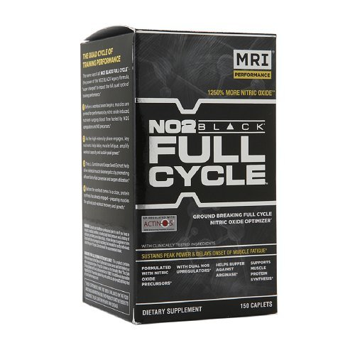 MRI Performance NO2 Black Full Cycle, Caplets 150 ea(pack of - Black No2