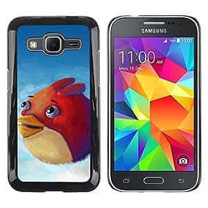 LECELL--Funda protectora / Cubierta / Piel For Samsung Galaxy Core Prime -- Angry Birdz --