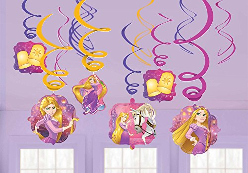 amscan Tangled Swirl Decorations -