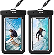 JOTO Universal Waterproof Pouch, IPX8 Waterproof Cellphone Dry Bag Underwater Case for iPhone 12 Pro Max 11 Pr