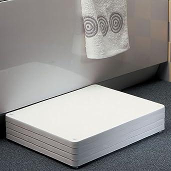 Amazon.com: Homecraft Adjustable Height Bath Step, Elevated Step ...