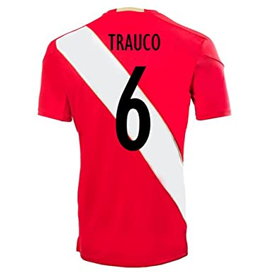 16d11f72a9e Amazon.com  Umbro TRAUCO  6 Peru Away Soccer Jersey World Cup Russia ...