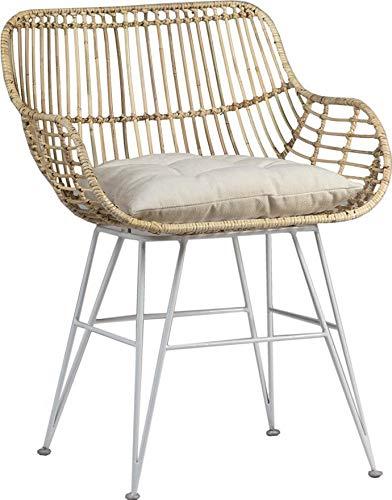Sensational Amazon Com Dining Chair Dovetail Hanko White Natural Black Short Links Chair Design For Home Short Linksinfo