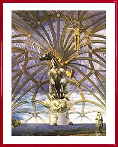 (Salvador Dali Poster Art Print and Frame (Plastic) - Santiago El Grande, 1957 (20 x 16 inches))
