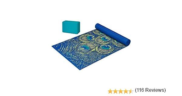 Gaiam Premium Cushion /& Support Yoga Kit