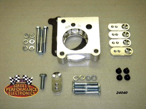 Street and Performance 24040 Helix Power Tower Plus Throttle Body Spacer Street and Performance Electronics