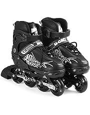 Adjustable Inline Skates Indoor Outdoor Fitness Skates For Kids Boys Girls Ladies