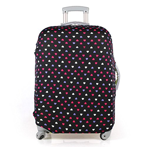 Washable Elastic Luggage Protective Covers Fits 20/24/28 Inch Suitcase Baggage Cover (L(26-28
