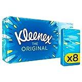 Kleenex Pocket Packs Original Tissues 8 x 9 per pack (PACK OF 4)