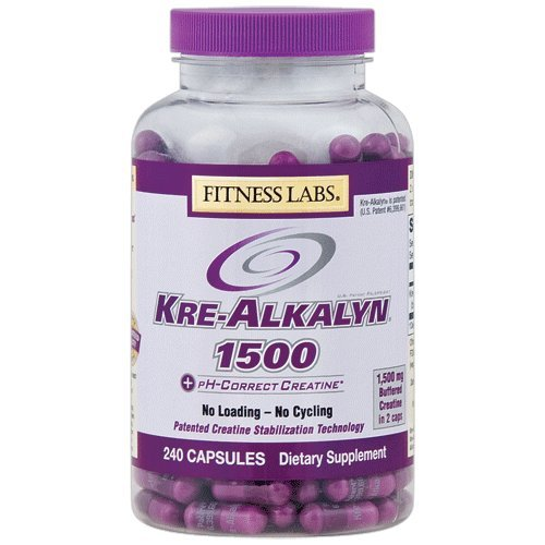 Fitness Labs Kre-Alkalyn 1500, 240 Capsules (All American Kre Alkalyn)