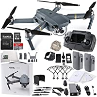 DJI Mavic Pro Collapsible Quadcopter Essential EVERYTHING YOU NEED BUNDLE