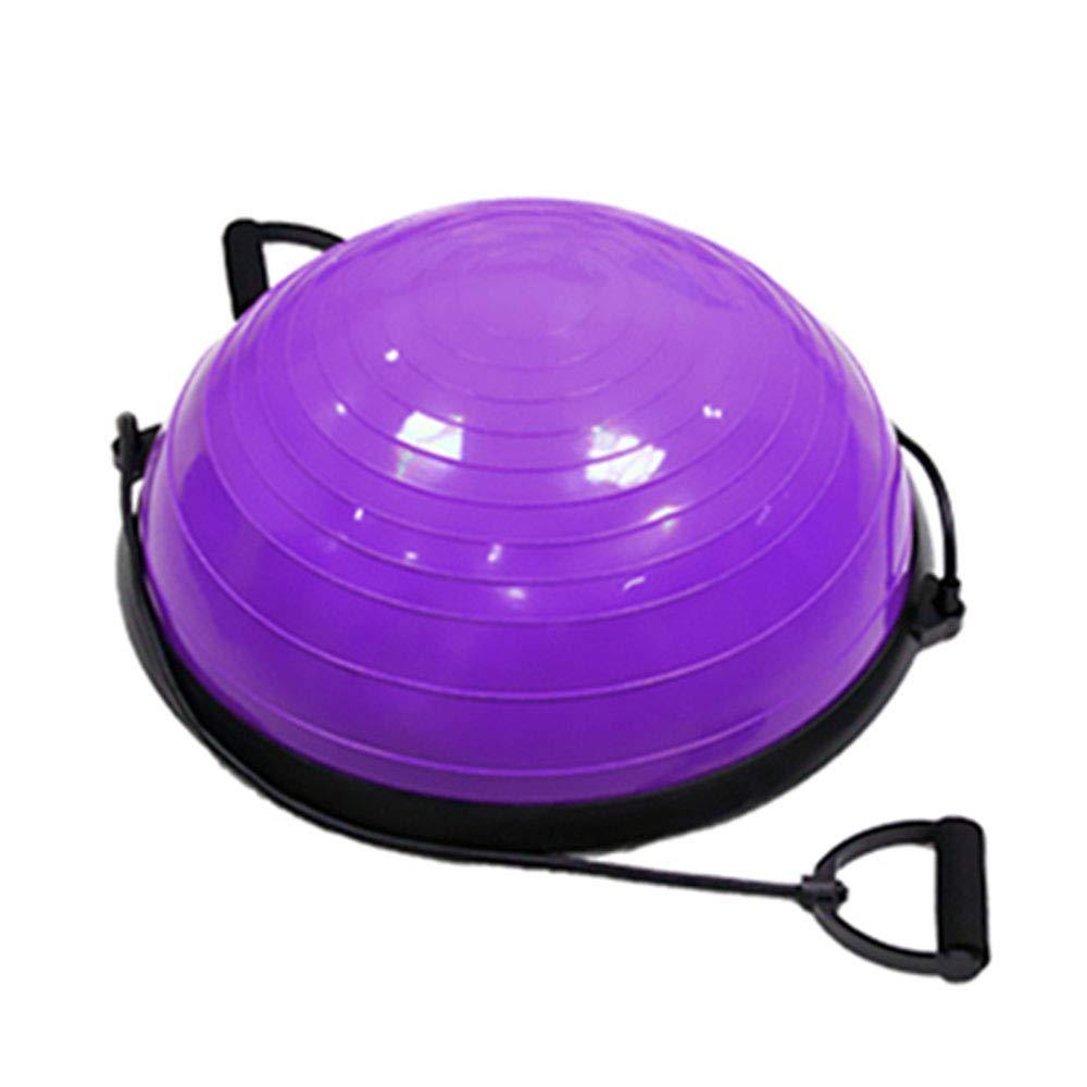 TESITE Yoga Ball Fitness Ball Gewicht Verlust Rehabilitation Gleichgewicht TrainingsgeräT (Lila)