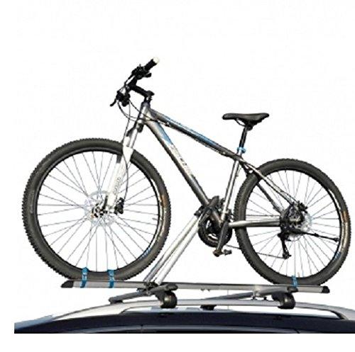 Fischer Fahrradtr/äger Dachtr/äger f/ür 1 Fahrrad Relingtr/äger Mountainbike