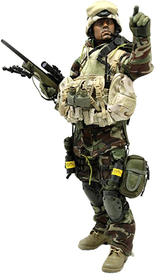 Batop - Disfraz de tirotor de élite de la Jungla para 1/6 Soldadat ...