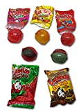 Authentic Imported Mexican - Beny Locochas Mix 60ct. Mexican Candy: Beny Locochas Mix. : Real spicy candies! Locochas mix, With 1 Rockaleta Chili Layers With Gum Center