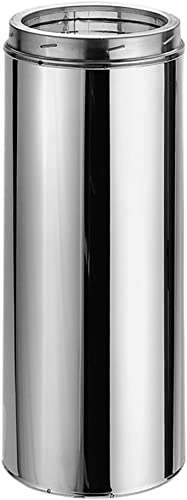 DuraVent Length Dura-Tech Chimney- SS, 8, Stainless Steel