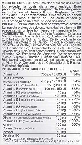 Multivit AB Complex 60 tabletas (Pack 2 u.): Amazon.es: Salud y ...