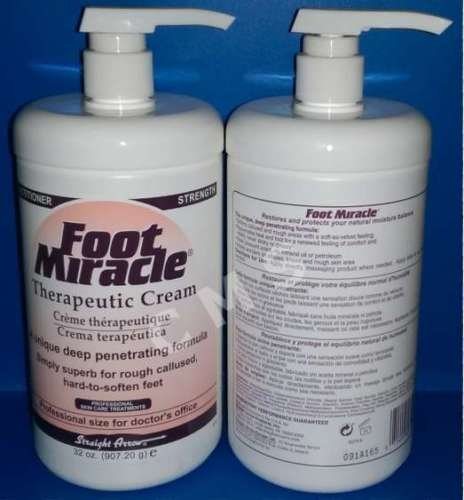 Foot Repair Cream Practitioners Strength Foot Miracle, 32 oz by Straight Arrow (Image #1)