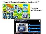 Cooler Shock 3X Lg. Zero°F Cooler Freeze Packs 10
