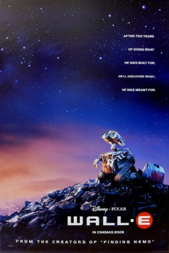 WALL-E MOVIE POSTER 2 Sided ORIGINAL Advance - Wall E Poster