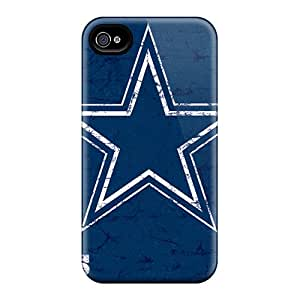 Flexible Tpu Back Case Cover For Iphone 6 - Dallas Cowboys