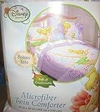 Disney Fairies Tinkerbell Twin Comforter with Bonus Tote