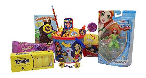 DC Super Hero Girls Easter Basket | Great for Little Boys an