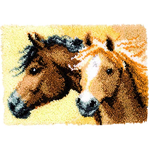 (BYT Collections 18 Model Animal Latch Hook Kit Rug Animal 601 21 by 15 Inch)