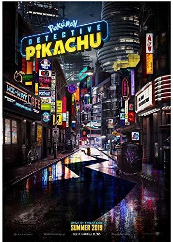 target achiver poster Rare Poster Ryan Reynolds Detective Pikachu Pokemon Movie 12
