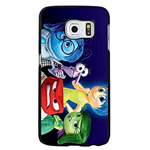 Comic Printed Cover Shell Cute Graceful Inside Out Phone Case Snap on Samsung Galaxy S6 Edge plus Inside Out Movie Design Case
