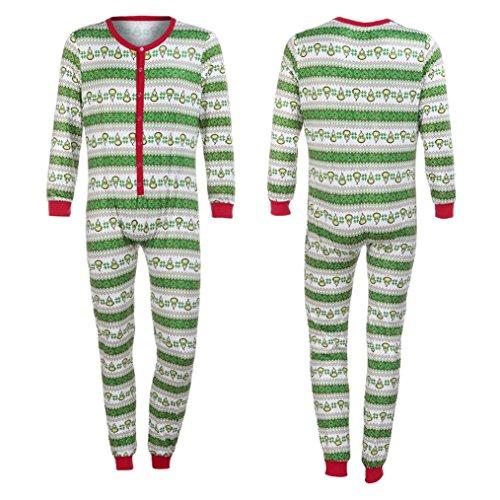 Family Clothes,SEXYP Man Xmas Matching Pajamas Set Sleepwear Nightwear (X-Large)