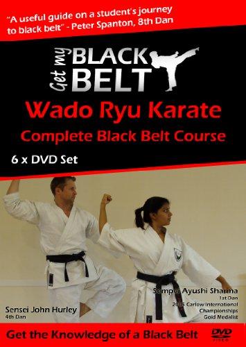 - Get My Black Belt Wado Ryu Karate 6 x DVD Home Study Course [NTSC DVD]