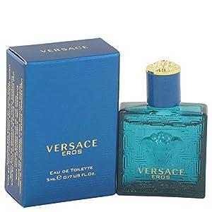 Versace Eros by Versace Men's Mini EDT .17 oz 100% Authentic