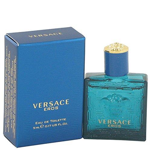 Versace Eros by Versace Men's Mini EDT .16 oz 100% Authentic