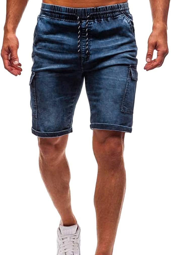 FRAUIT Pantaloncini Uomo Bodybuilding Pantaloncino Uomini Sport Cotone Bermuda Tasconi Cargo Pantalone Tuta Ragazzo Sportive Pantaloni Tuta Sportiva Estivi Casual Fitness Gym Jogging