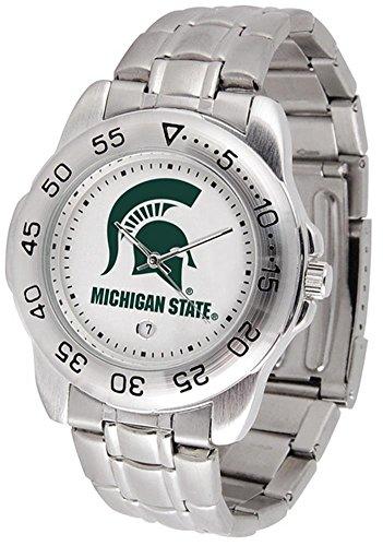 Michigan State Spartans Sport Steel Men's Watch ()