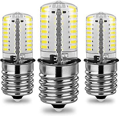 3 unidades E17 LED de intensidad regulable bombilla, 4 W, 6000 K ...