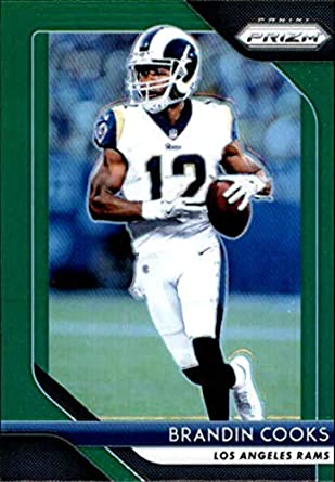442807276 2018 Panini Prizm Prizm Green  94 Brandin Cooks Los Angeles Rams NFL  Football Trading Card