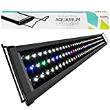 Koval Inc 129 LED Aquarium Light with Extendable Brackets, 36-Inch to 43-Inch