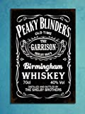Metal Plaques Vintage Style Peaky Blinders Mancave Tin Wall Shed Bar Signs