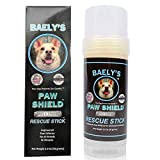 Baely's Paw Shield Rescue Stick - Trust the Original Made in America Paw Shield | Easy to Apply Dog Paw Protection Wax | Natural Paw Protection for Hot Cold Rain & Mushers in Snow | 2 oz Easy to Apply
