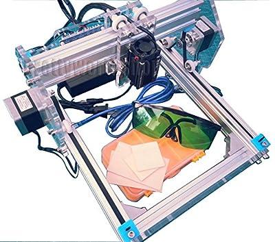 SUNWIN 22X17cm DIY Desktop Laser Engraving Machine Engraver Wood Cutting Logo Marking
