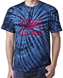 "The Silo TIE DIE NAVY Cleveland ""Miller Time"" T-Shirt"
