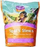 Halo Spot's Stew Natural Dry for Small Breed Dogs, Wholesome Chicken, 10-Pound Bag